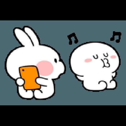 Rabbit Smile Person 3 - Sticker 30