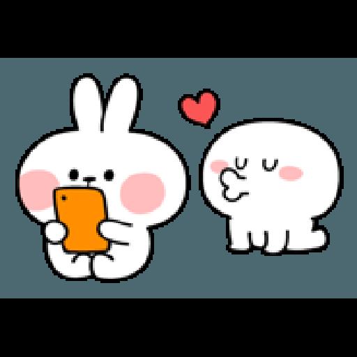 Rabbit Smile Person 3 - Sticker 21