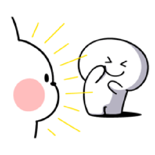 Rabbit Smile Person 3 - Sticker 8