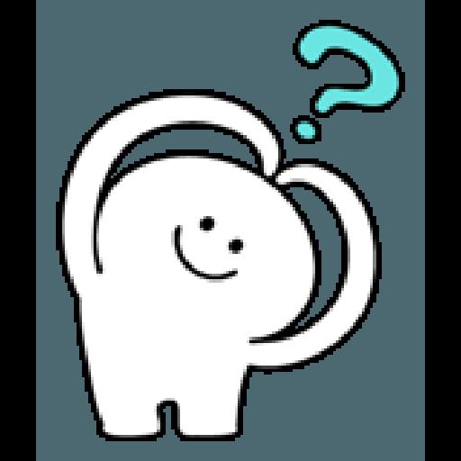 Rabbit Smile Person 3 - Sticker 3