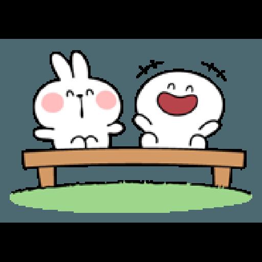 Rabbit Smile Person 3 - Sticker 17