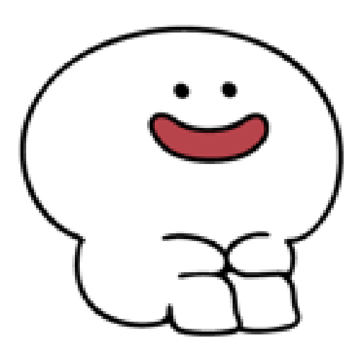Rabbit Smile Person 3 - Sticker 1