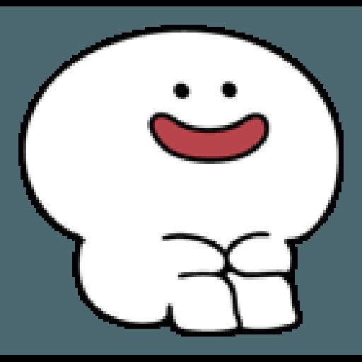Rabbit Smile Person 3 - Sticker 1