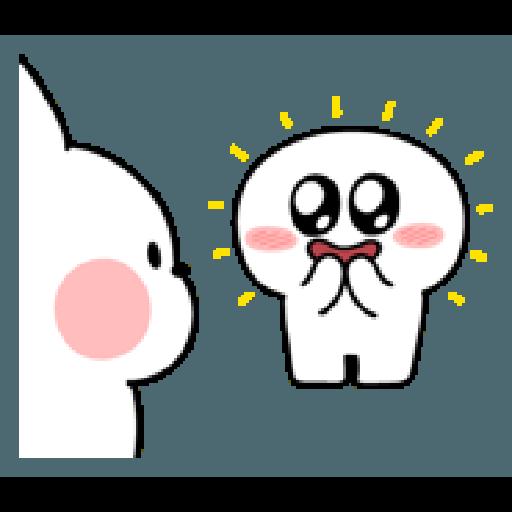 Rabbit Smile Person 3 - Sticker 23