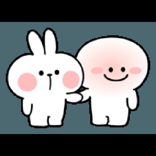 Rabbit Smile Person 3 - Sticker 12