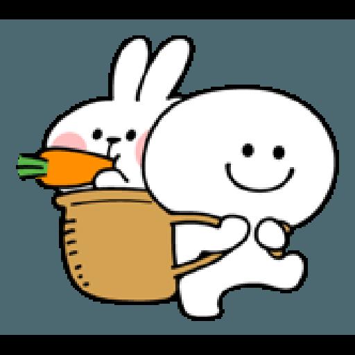 Rabbit Smile Person 3 - Sticker 24