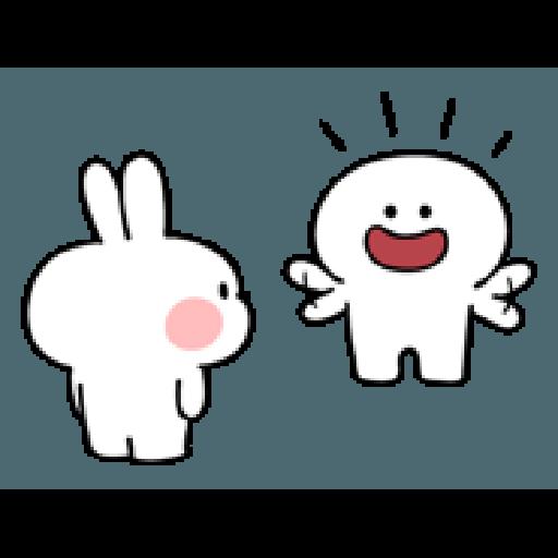 Rabbit Smile Person 3 - Sticker 28