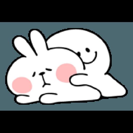 Rabbit Smile Person 3 - Sticker 2