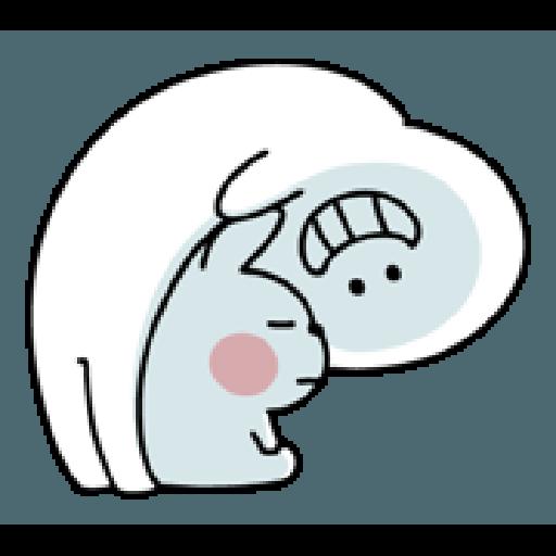 Rabbit Smile Person 3 - Sticker 7