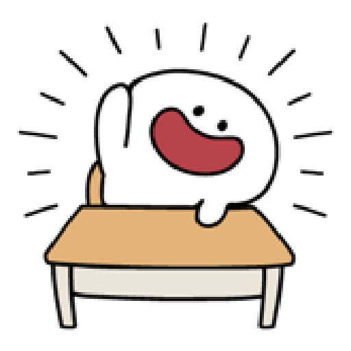 Rabbit Smile Person 3 - Sticker 4