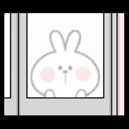 Spoiled rabbit 眼望望版 1 - Sticker 14