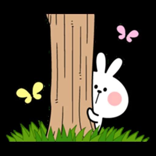Spoiled rabbit 眼望望版 1 - Sticker 22