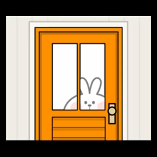 Spoiled rabbit 眼望望版 1 - Tray Sticker