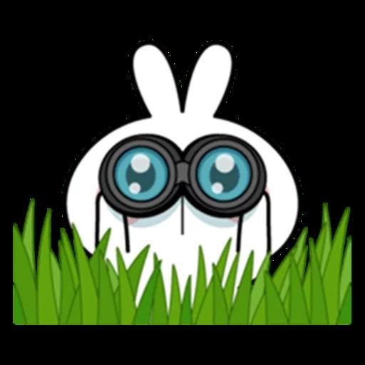 Spoiled rabbit 眼望望版 1 - Sticker 21