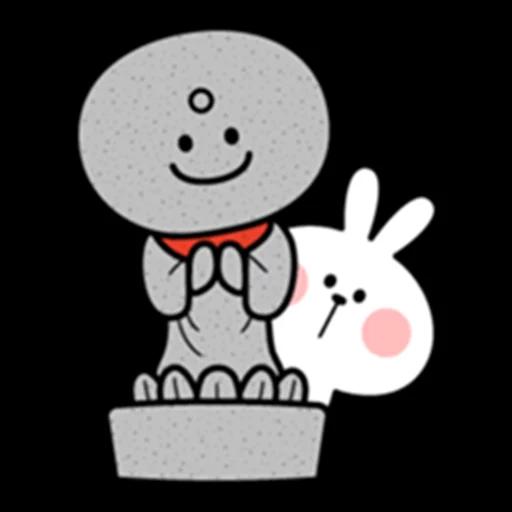 Spoiled rabbit 眼望望版 1 - Sticker 23