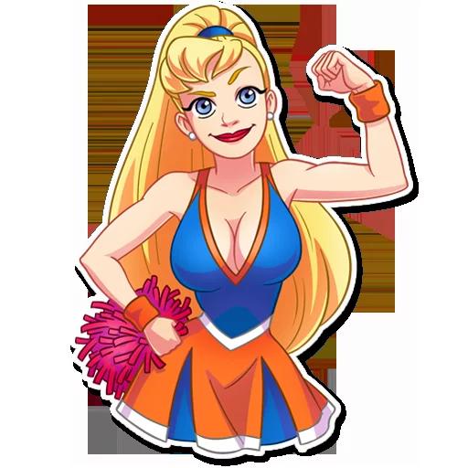 Cheerleader 1 - Sticker 18