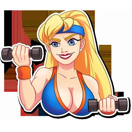 Cheerleader 1 - Sticker 16