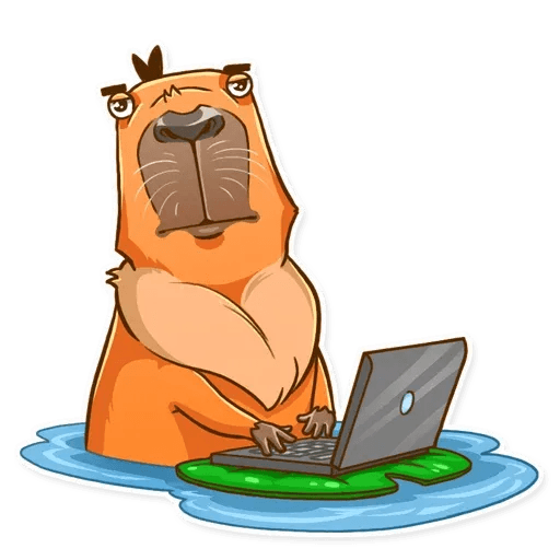 Mr. Capybara - Sticker 9
