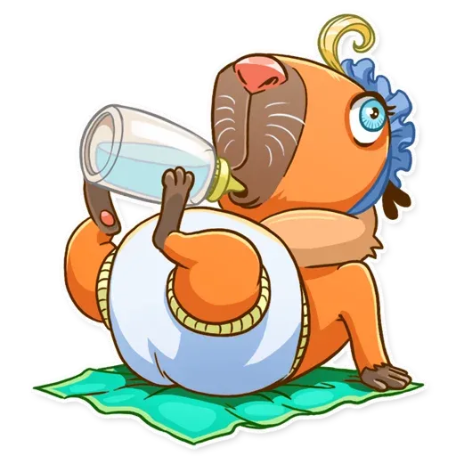 Mr. Capybara - Sticker 30