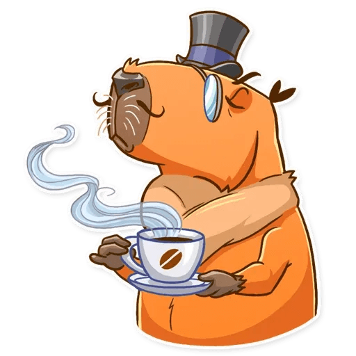 Mr. Capybara - Sticker 14