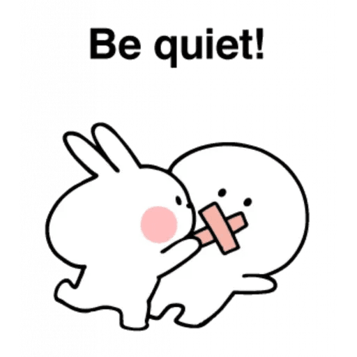 Spoiled rabbit 24 - Sticker 29