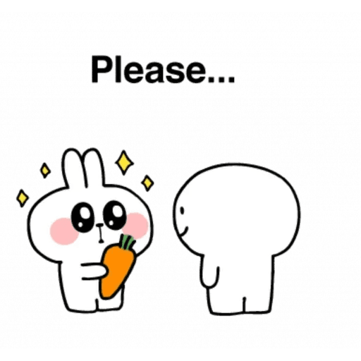 Spoiled rabbit 24 - Sticker 25