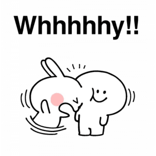 Spoiled rabbit 24 - Sticker 14