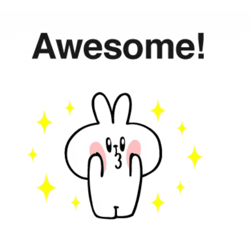 Spoiled rabbit 24 - Sticker 17