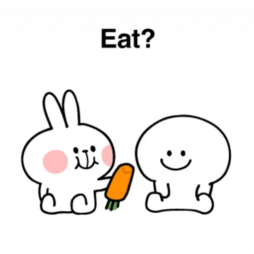 Spoiled rabbit 24 - Sticker 24