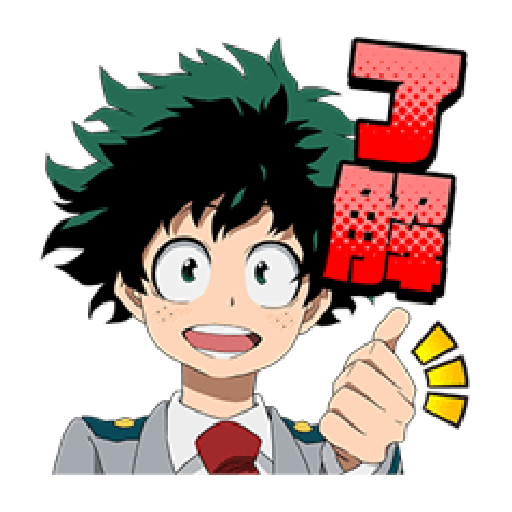 Boku no Hero Academia #1 - Sticker 3