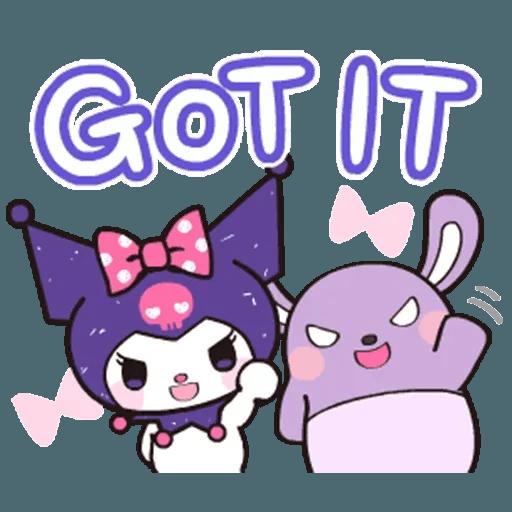 Kuromi - Tray Sticker