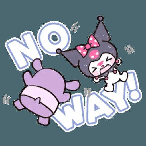 Kuromi - Sticker 23