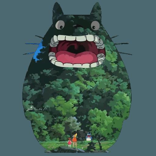 Totoro - Sticker 5