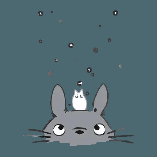Totoro - Sticker 4