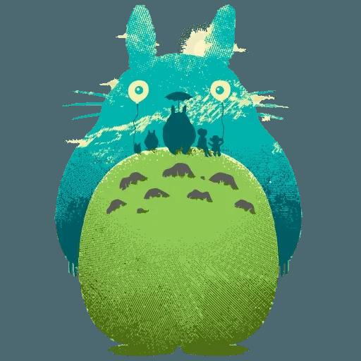 Totoro - Sticker 12