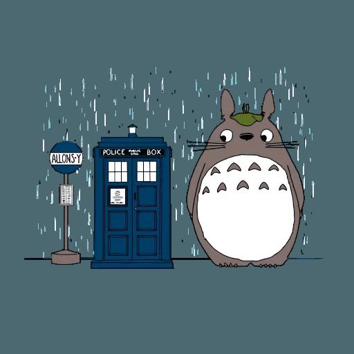 Totoro - Sticker 19