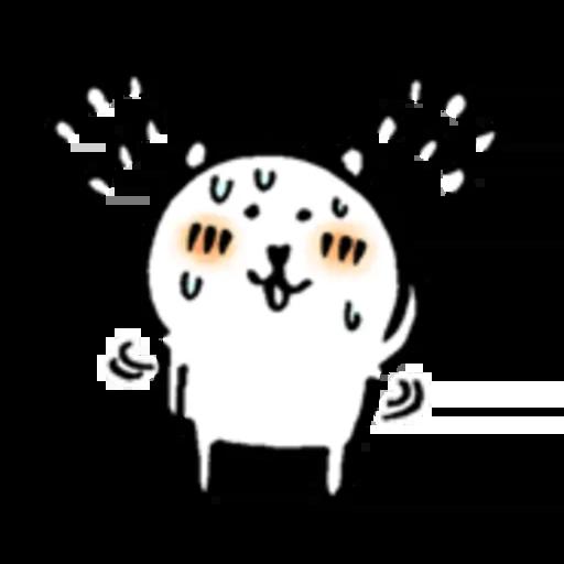 White bear 4 - Sticker 3