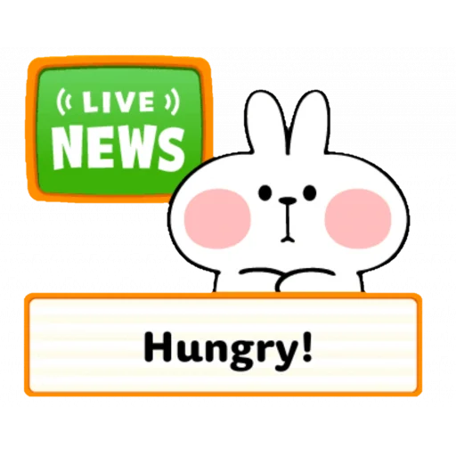 Spoiled rabbit speech - Sticker 22