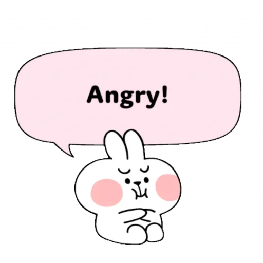 Spoiled rabbit speech - Sticker 19