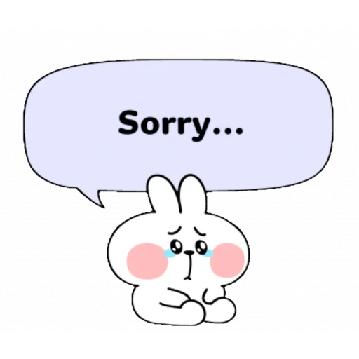 Spoiled rabbit speech - Sticker 9