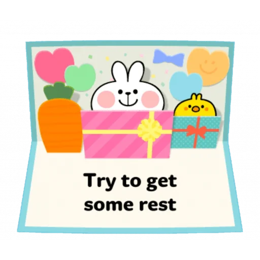 Spoiled rabbit speech - Sticker 6