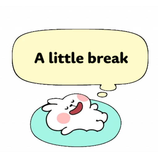 Spoiled rabbit speech - Sticker 10