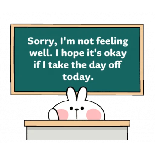Spoiled rabbit speech - Sticker 16