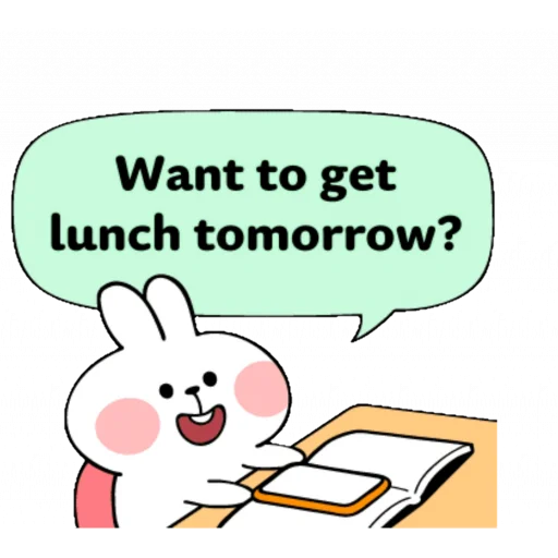 Spoiled rabbit speech - Sticker 15