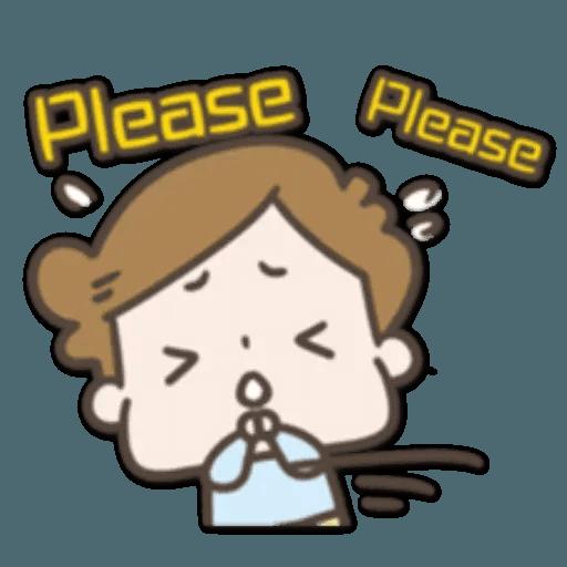 /啾啾妹 - Sticker 6