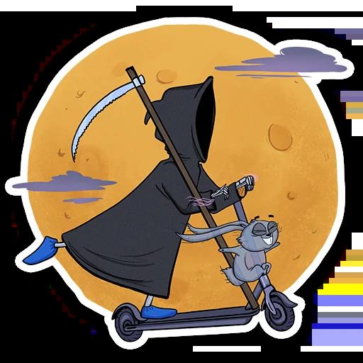Universe of the cat Stepan - Sticker 10