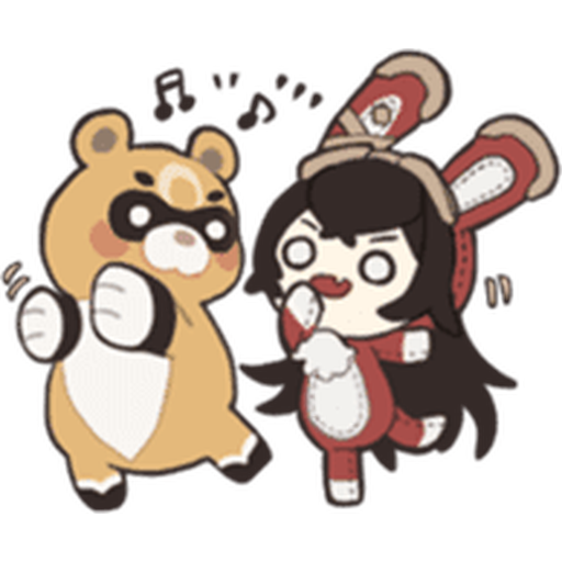 Genshin Line - Sticker 5