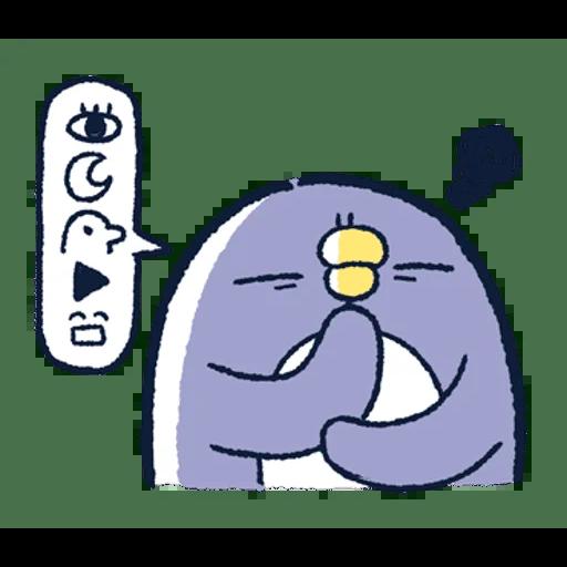 肥企鵝的內心話3 & 4 (3) - Sticker 11