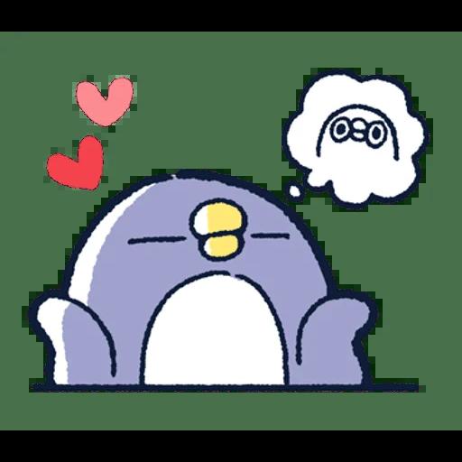 肥企鵝的內心話3 & 4 (3) - Tray Sticker