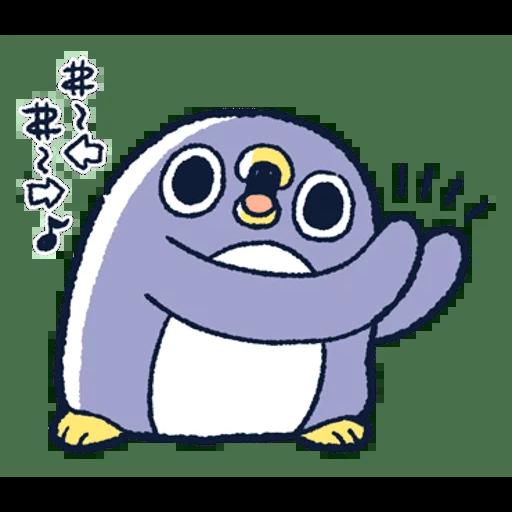 肥企鵝的內心話3 & 4 (3) - Sticker 4